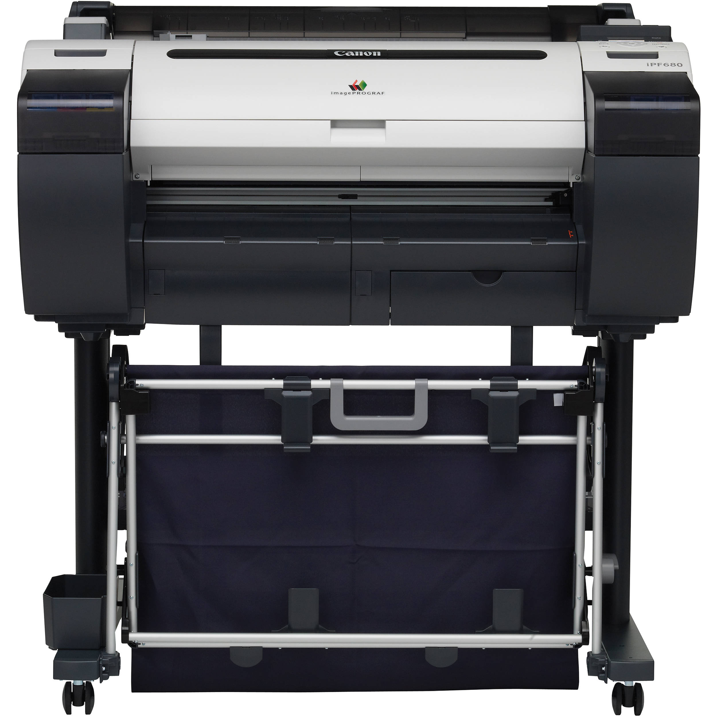 Canon Imageprograf Ipf680 Springfield Blue Print Plotter Hp Designjet T520 24 Inch