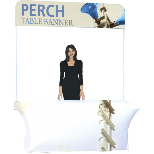 Perch 8 Foot Table Pole Banner