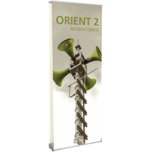 Orient 800 Double-sided Retractable Banner Stand