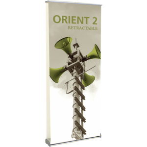 Orient 920 Double-sided Retractable Banner Stand