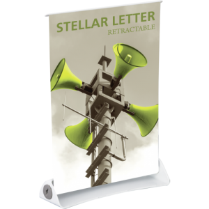 Stellar Letter Retractable Banner Stand