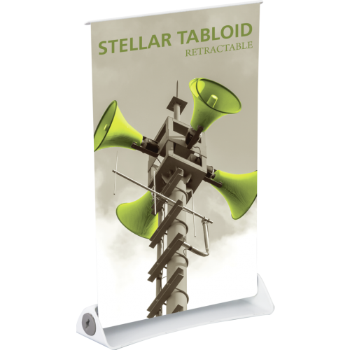 Stellar Tabloid Retractable Banner Stand