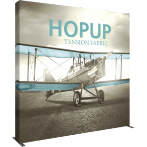 Hopup 10 ft Straight Extra Tall Tension Fabric Display