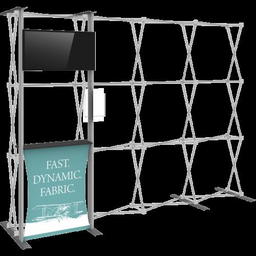 Hopup 10 ft Tension Fabric Backwall Accessory Kit 03