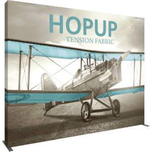 Hopup 13 ft Straight Extra Tall Tension Fabric Display