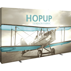 Hopup 13 Ft Straight Full Height Tension Fabric Display