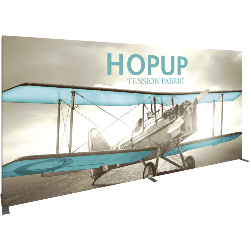 Hopup 15 foot Straight Full Height Tension Fabric Display