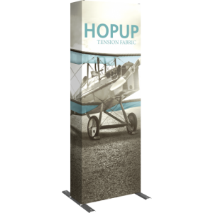 Hopup 2.5 Straight Full Height Tension Fabric Display