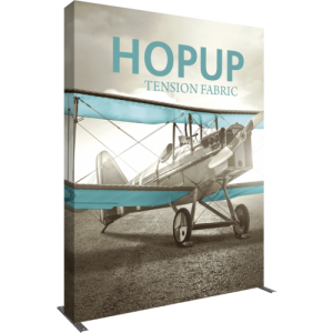 Hopup 8 ft Extra Tall Tension Fabric Display