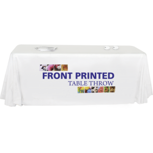 Front Printed Table Throw