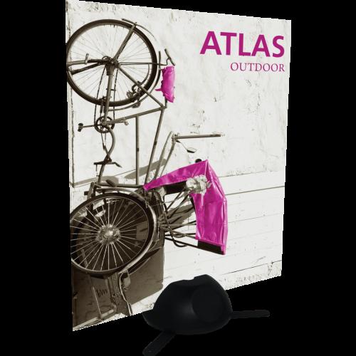 Atlas outdoor sign holder