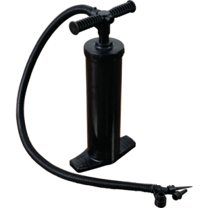 Inflatable column hand pump