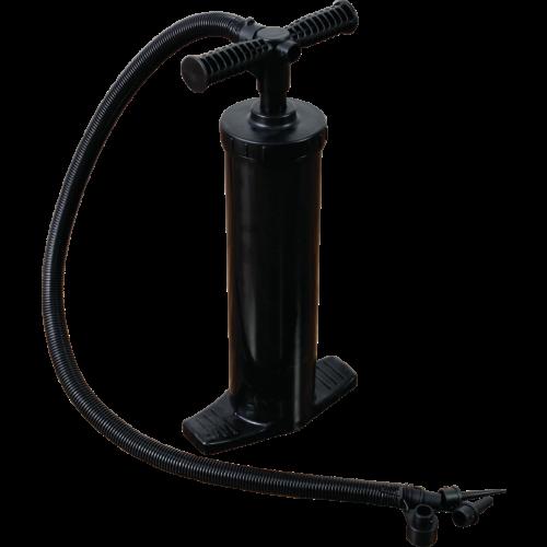 Inflatable column hand pump