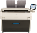 KIP 7170 monochrome printer